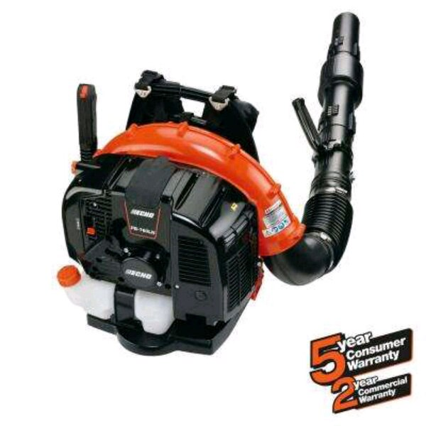 red and black Echo gas string trimmer