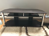 black wooden TV stand with mount Coquitlam, V3J 2W5