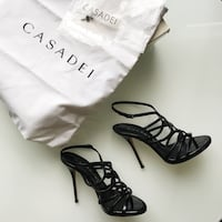 Casadei patent strappy sandals size 5 / 35 London, N5V
