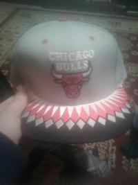 gray Chicago Bulls fitted cap Jamestown, 14701