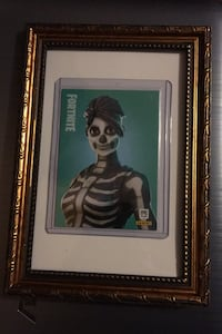 Skull Ranger rare Panini 2019 Fortnite Collectible card Framed Suffolk, 23435