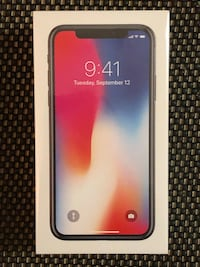 iPhone X Space Gray, 64 gb, Brand New! Laval