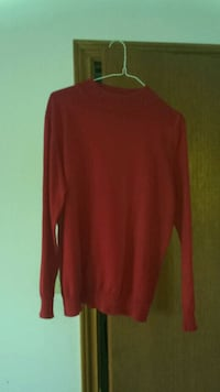 Ladies Red Sweater