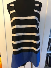 Collective Concepts striped sleeveless top Size M