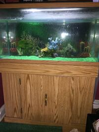 Aquarium w/stand and cabinet connected Temple Hills, 20748