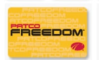 Yellow patco freedom gift card null