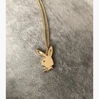Playboy bunny necklace in gold Mc Lean, 22102