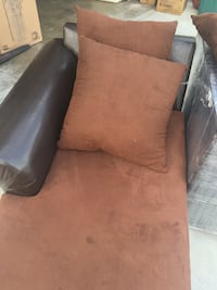 Brown Microfiber Chaise Lounge Torrance, 90504