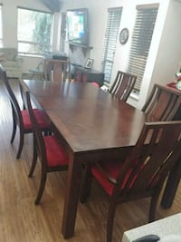 dinning room table and chairs  Surrey, V4A 8H3