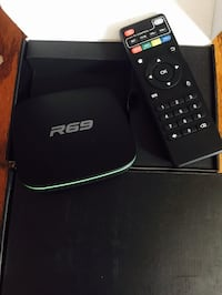 Black R69 android TV - Fully loaded Chatham, N7M 3P1