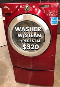 Washer with Steam and Pedestal  East Hartford, 06108