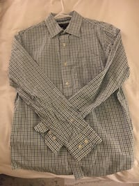 Banana Republic Mens Slim Fit Dress Shirt Size Small Washington, 20008