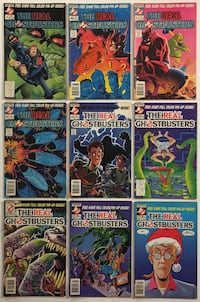 The Real Ghostbusters Lot of 9 Now Comics 1988-1990 Laurel, 20724