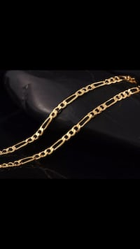 Brand New 18K Gold Fillled 2mm 30 Inch Luxury Chain Necklace