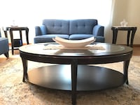 Wooden Coffee Table + 2 end tables Montreal, H3M 2X6