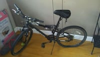 Bike with gel seat full suspension Edmonton, T5C 2L6