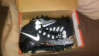 pair of black-and-white Nike cleats Gaithersburg, 20878