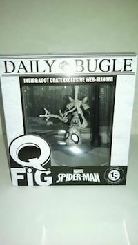 Loot Crate Marvel Spider-Man web Slinger Lisle