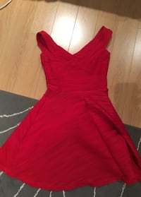 Red party women's dress - red Burlington, L7M 4V3