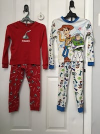 """Kids """"Disney Toy Story"""" & """"Hershey's Kisses"""" Pajama's Dearborn Heights, 48127"""