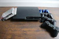 PlayStation 3 - Console, Games and 4 Controls 508 km