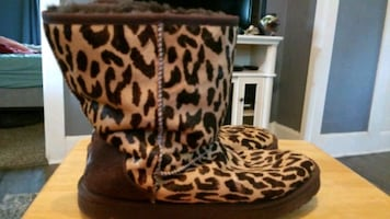Ugg leopard boots
