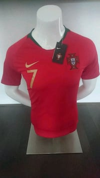 2018 World Cup PORTUGAL HOME JERSEY ( RONALDO#7 ).