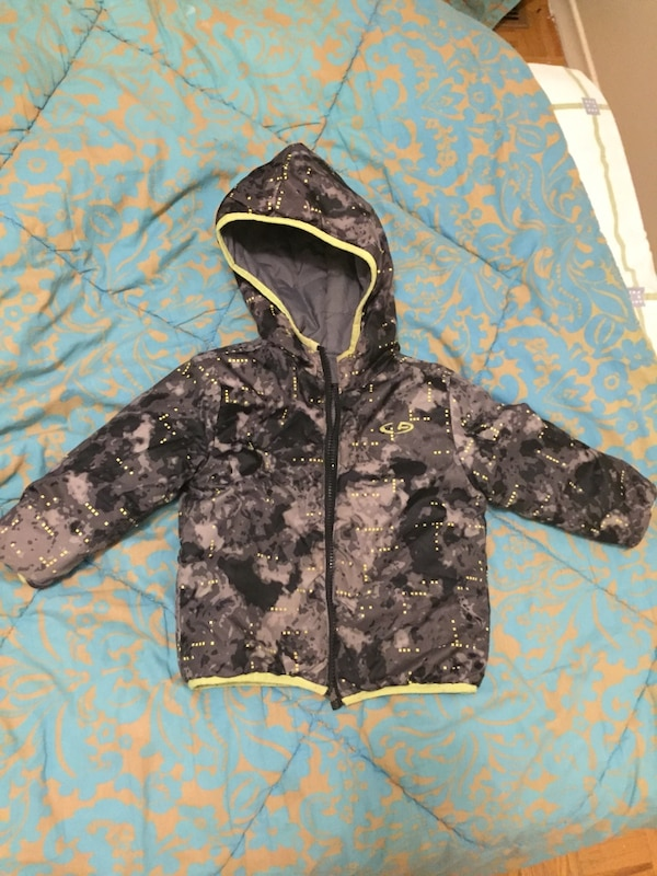 2 in 1 kids snow jacket, size (12-24 month)