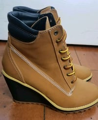 Truffle Collection Wedge Sneaker Heel Boot Shoe 7 St. Thomas, N5R 6C3