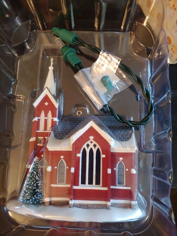 "Hallmark Keepsake: ""Central Tower Church""  5"