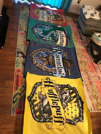 Hand Painted Harry Potter House Banners