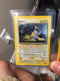 Pokemon trading card game case Edmonton, T6W