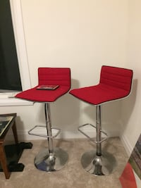 two red-and-gray bar stools Barrie, L4N