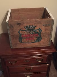 1963 vintage Canada Dry Crate Fayetteville, 28304