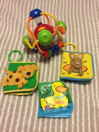 Infantino Rattle Ball, boos-squeak, crinkle & for bath