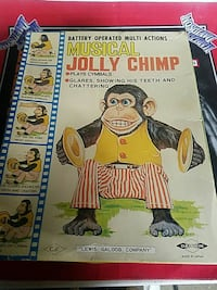 Battery Operated Multi-Action Musical Jolly Chimp book Vacaville, 95688