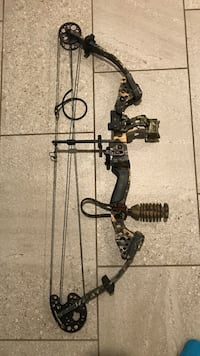 Black and brown compound bow Thurmont, 21788