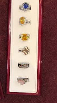 Real silver rings on sale!  Anniston, 36201