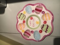 Easter Egg Plate Newmarket, L3X 3H3