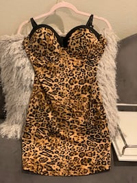 Animal print Nightgown