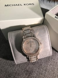 MK6548 - Michael Kors Women's Rose Gold-Tone Pave Glitz Richmond Hill, L4C 1W3