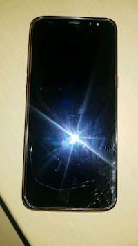 SAMSUNG S8 CRACKED SCREEN WORKS PERFECTLY Brampton, L6R 1P1