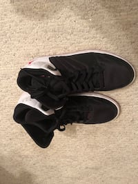 Size 12 in men  black Jordan's Raleigh, 27616