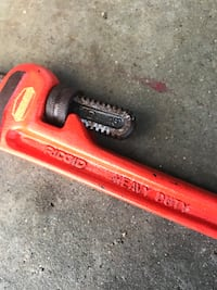 18 inch rigid pipe wrench