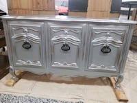 Refinished French Provincial style buffet or entry Edmonton, T5Y 2S9