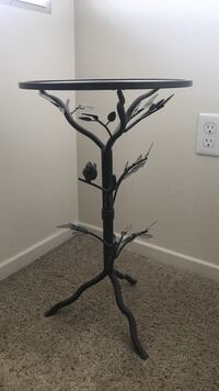Metal and Glass Accent Table San Diego, 92115