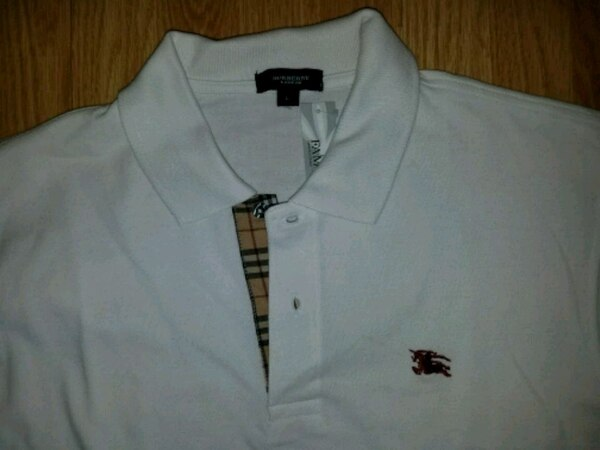 reasonable price hot-selling clearance new specials Large Burberry Polo Shirt New With Tag!!!