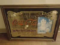 antique coca cola bar mirror large Langley City, V3A 7Z2