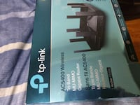 TP link Ac5400 tri band router less than a year old $150.00 firm