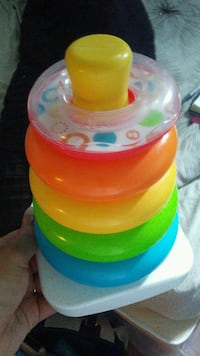 multi-colored stacking toy set Kitchener, N2E 2Y5